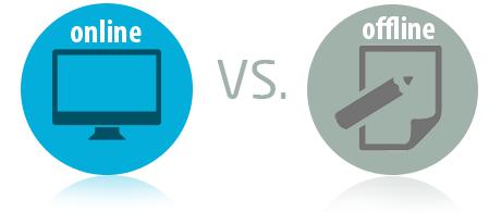 Статья: Онлайн или оффлайн обучение?